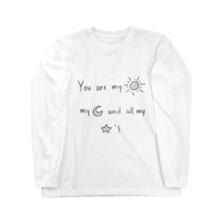 しんぷるかわいい Long sleeve T-shirts