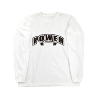 PROTEIN プロテイン ブラック Long sleeve T-shirts