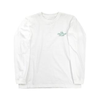 No Choco Mint No Life ワンポイント Long sleeve T-shirts