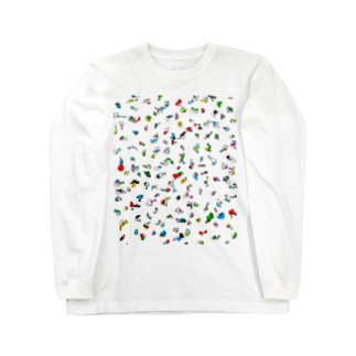 ぴと Long sleeve T-shirts