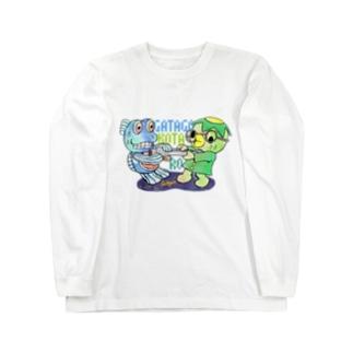 コタロウ×ガタゴロウ ワラスボくん綱引き Long sleeve T-shirts