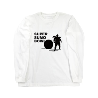 SUPER SUMO BOWL Long sleeve T-shirts