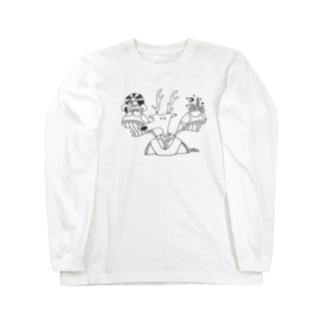 鹿人 Long sleeve T-shirts