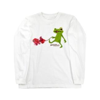 POOLYS next generation with goldfish Long sleeve T-shirts