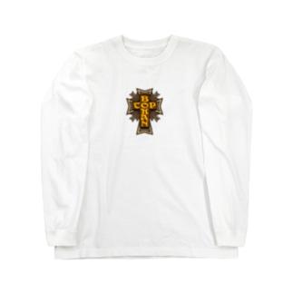 クロスTEE Long sleeve T-shirts