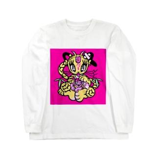 ギブミ〜!トモタカ Long sleeve T-shirts