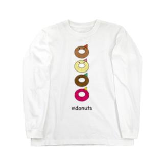 #donuts Long sleeve T-shirts