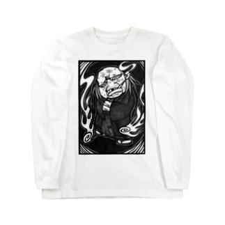 likedislikeの妖怪爺 Long sleeve T-shirts