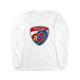 パ紋No.2994 Hiroaki Long sleeve T-shirts