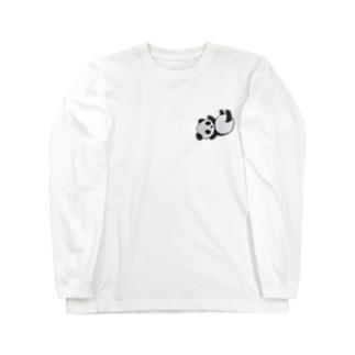 コロンパンダ Long sleeve T-shirts