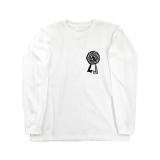 リボン Long sleeve T-shirts