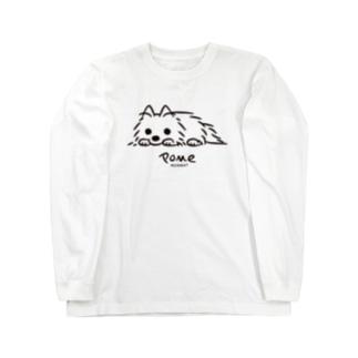 いつでも待機中 Long sleeve T-shirts