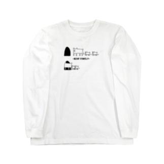 クマファミリー Long sleeve T-shirts