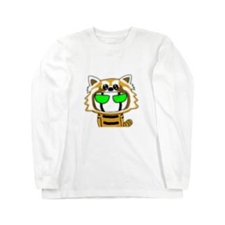 BK レッサーVrビケ Long sleeve T-shirts