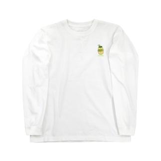 バナナウユ Long sleeve T-shirts