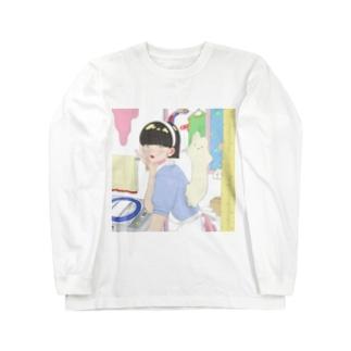 美羽 Long sleeve T-shirts