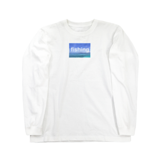 yu's shopのfishing Long sleeve T-shirts