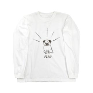 パグ Long Sleeve T-Shirt