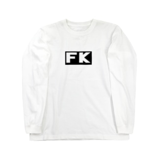 FK BOX LOGO  Long sleeve T-shirts