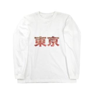 Tokyo Sakura Long sleeve T-shirts