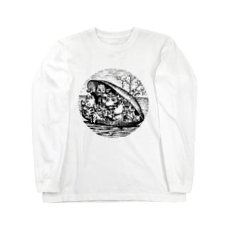 ムール貝 Long sleeve T-shirts