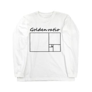 黄金比 Long sleeve T-shirts
