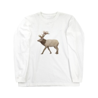 切なRendeer Long sleeve T-shirts