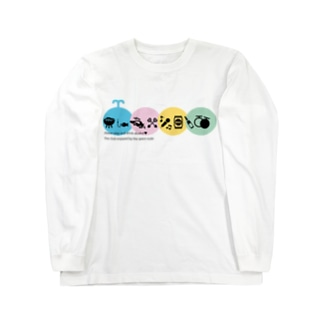 京橋かい Long sleeve T-shirts