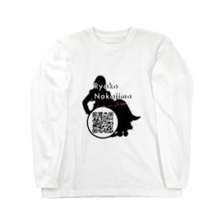 Logo w/ QR code Long sleeve T-shirts