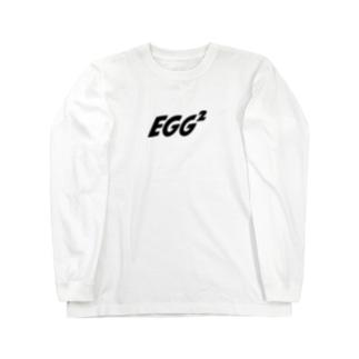 EGG² Simple Logo Long T-shirts Long Sleeve T-Shirt