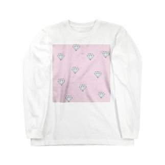 ピンクダイヤモンド Long sleeve T-shirts