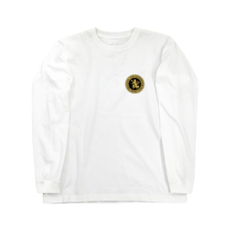 DEVGRU ライオン丸型2(ワンポイント) Long sleeve T-shirts
