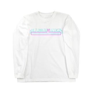 「ULTIMATE MUZIK?!」 Long sleeve T-shirts