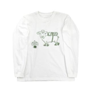 HIKER SHEEP Long sleeve T-shirts