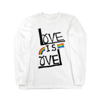 LOVE IS LOVE Long sleeve T-shirts