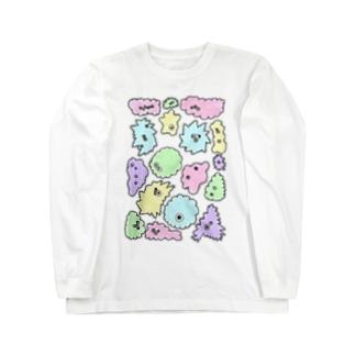 微生物 Long sleeve T-shirts