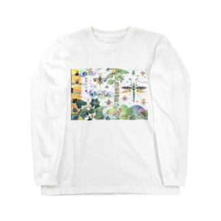 虹色のみくに Long sleeve T-shirts