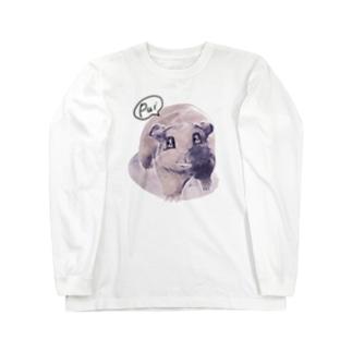 トテトテ-ミルキー Long sleeve T-shirts
