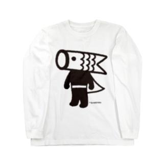 こいのぼりマン Long sleeve T-shirts