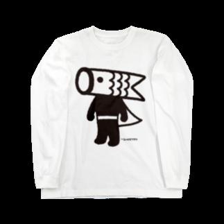 こいのぼりマン@加須市のこいのぼりマン Long sleeve T-shirts