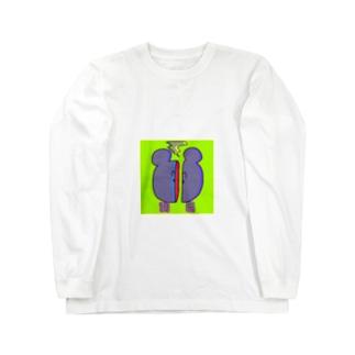 刮目 Long sleeve T-shirts