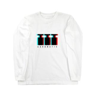 CHROMATIC Long sleeve T-shirts