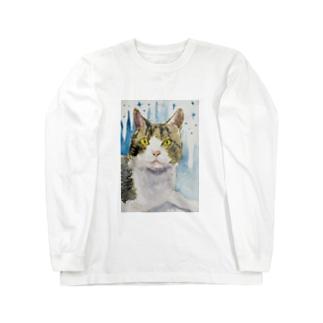 夜のカケラ Long Sleeve T-Shirt