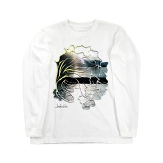 夏を泳ぐ魚 Long Sleeve T-Shirt
