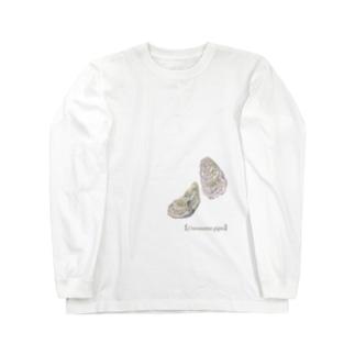 カキ Long sleeve T-shirts