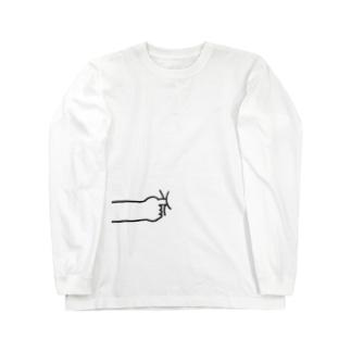 プス Long sleeve T-shirts