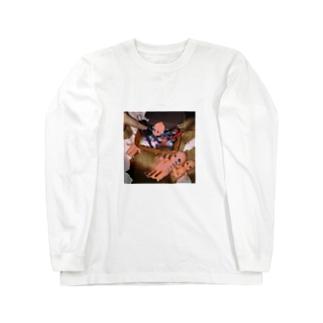 キューピーの命日 Long sleeve T-shirts