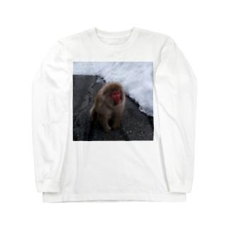 おさるちゃん Long sleeve T-shirts