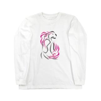 アジアンテイスト Long sleeve T-shirts