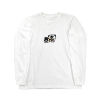 パグがいっぱい Long Sleeve T-Shirt